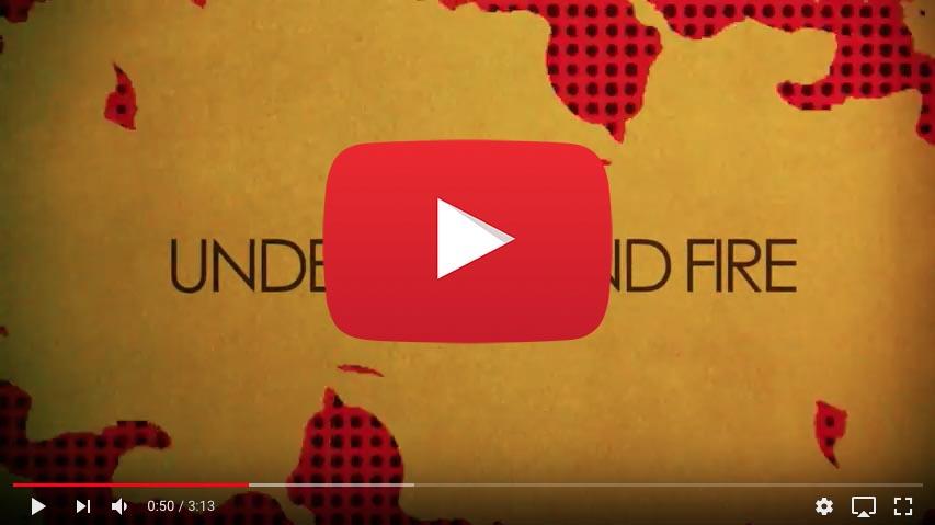 """Rob Coffinshaker's Underground Fire: """"Underground Fire"""" promo video"""